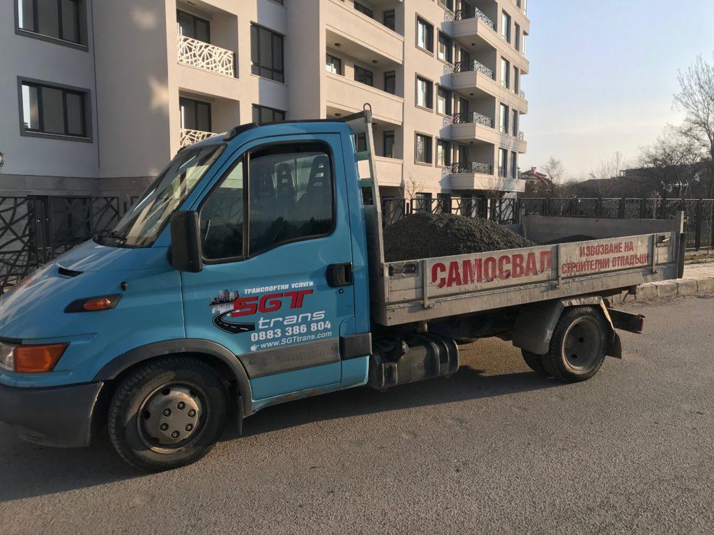 dostavka na beton i zamazka